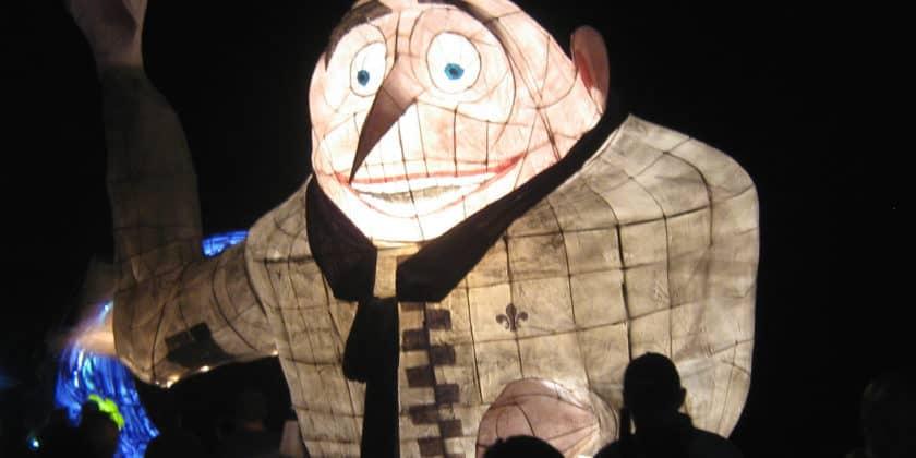 Ulverston Lantern Festival's River of Light