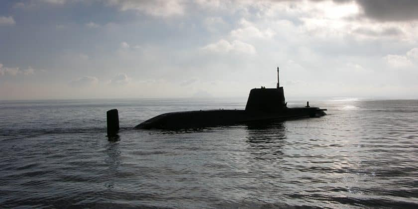 BAE Systems Astute nuclear powered attack submarine