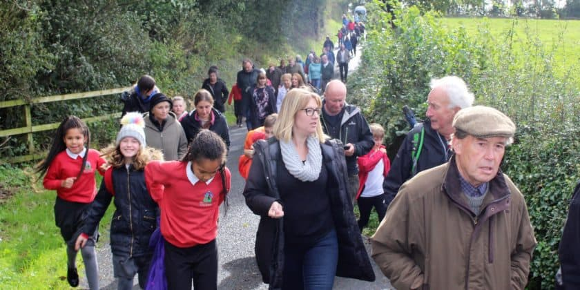 Protest walk boosted Old Hutton power station fight